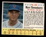1963 Jello #194  Marv Throneberry  Front Thumbnail