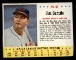 1963 Jello #57  Jim Gentile  Front Thumbnail