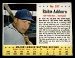 1963 Jello #197  Richie Ashburn  Front Thumbnail