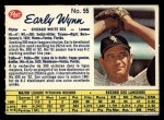 1962 Post Canadian #55  Early Wynn  Front Thumbnail