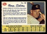 1962 Post Canadian #92  Norm Siebern  Front Thumbnail