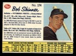 1962 Post Canadian #174  Bob Skinner  Front Thumbnail