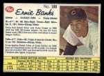 1962 Post Canadian #188  Ernie Banks  Front Thumbnail