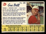 1962 Post Canadian #120  Gus Bell  Front Thumbnail