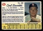 1962 Post Canadian #162  Carl Sawatski  Front Thumbnail