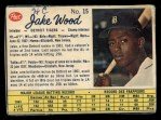 1962 Post Canadian #15  Jake Wood  Front Thumbnail