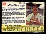 1962 Post Canadian #168  Alex Grammas  Front Thumbnail