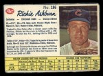 1962 Post Canadian #186  Richie Ashburn  Front Thumbnail