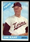 1966 Topps #445  Jim Kaat  Front Thumbnail
