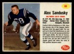 1962 Post #88  Alex Sandusky  Front Thumbnail