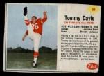 1962 Post #94  Tommy Davis  Front Thumbnail
