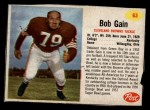 1962 Post #63  Bob Gain  Front Thumbnail