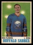 1970 O-Pee-Chee #128  Reg Fleming  Front Thumbnail
