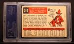 1959 Topps #514  Bob Gibson  Back Thumbnail