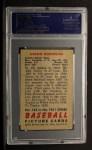 1951 Bowman #142  Aaron Robinson  Back Thumbnail