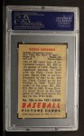1951 Bowman #186  Richie Ashburn  Back Thumbnail