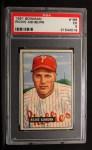 1951 Bowman #186  Richie Ashburn  Front Thumbnail