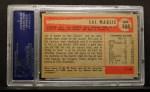 1954 Bowman #105 ERR Sal Maglie  Back Thumbnail