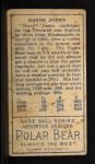 1911 T205 #90 GRN Davy Jones  Back Thumbnail