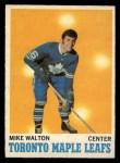 1970 O-Pee-Chee #109  Mike Walton  Front Thumbnail