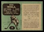 1970 O-Pee-Chee #98  Bob Wall  Back Thumbnail