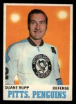 1970 O-Pee-Chee #89  Duane Rupp  Front Thumbnail