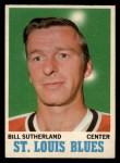1970 O-Pee-Chee #83  Bill Sutherland  Front Thumbnail