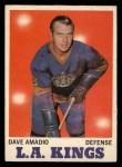 1970 O-Pee-Chee #33  Dave Amadio  Front Thumbnail