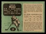 1970 O-Pee-Chee #149  Chico Maki  Back Thumbnail