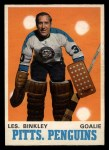 1970 O-Pee-Chee #200  Les Binkley  Front Thumbnail