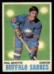 1970 O-Pee-Chee #127  Phil Goyette  Front Thumbnail
