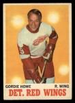 1970 O-Pee-Chee #29  Gordie Howe  Front Thumbnail