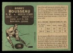 1970 O-Pee-Chee #170  Bobby Rousseau  Back Thumbnail