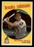 1959 Topps #439  Brooks Robinson  Front Thumbnail