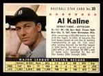 1961 Post Cereal #35 COM Al Kaline   Front Thumbnail