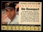1961 Post #149 COM Jim Davenport   Front Thumbnail