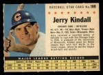 1961 Post Cereal #199 COM Jerry Kindall   Front Thumbnail