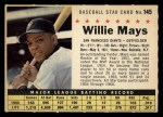 1961 Post #145 COM Willie Mays   Front Thumbnail