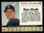 1961 Post #130 BOX Don Hoak   Front Thumbnail