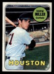 1969 Topps #76  Norm Miller  Front Thumbnail