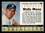 1961 Post Cereal #159 BOX Wally Moon   Front Thumbnail