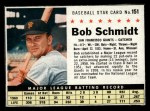 1961 Post #151  Bob Schmidt  Front Thumbnail