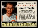 1961 Post #189 BOX Jim O'Toole  Front Thumbnail