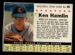 1961 Post #89 BOX Ken Hamlin   Front Thumbnail