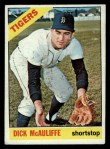 1966 Topps #495  Dick McAuliffe  Front Thumbnail