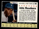 1961 Post #166 BOX John Roseboro   Front Thumbnail