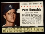 1961 Post #46  Pete Burnside   Front Thumbnail