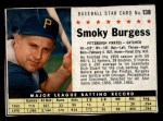 1961 Post #138 BOX Smoky Burgess  Front Thumbnail