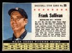 1961 Post #55 BOX Frank Sullivan   Front Thumbnail