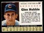 1961 Post #197 BOX Glen Hobbie   Front Thumbnail